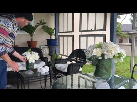 DIY PATIO MAKEOVER PROJECT ( 2020 ) Spring/Summer Porch Decor Ideas