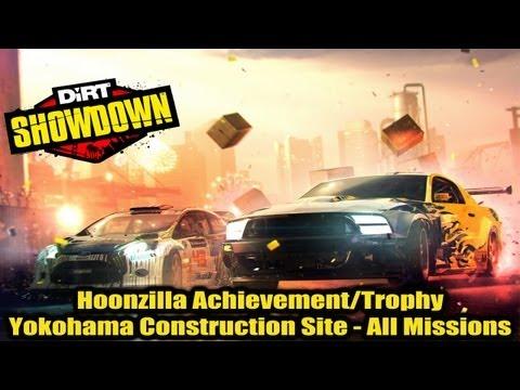DiRT Showdown - Yokohama Construction Site - All Missions