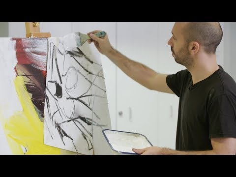 How to paint like Willem de Kooning - Part 2 | IN THE STUDIO