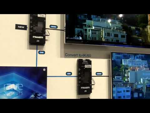 ISE 2015: Creston Introduces the World's First 4K/60 Scaler