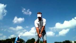 Matt Christian Golf Swing: flighted spinner wedge