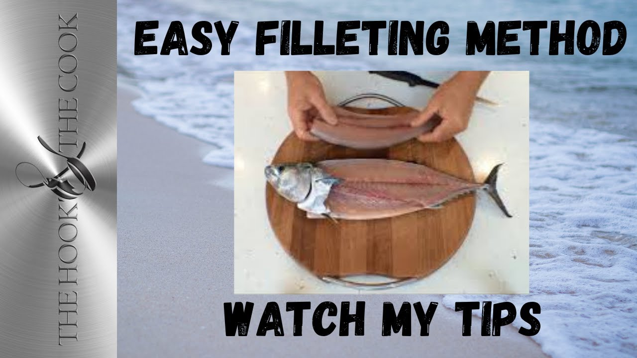 How to fillet fish the hook and the cook youtube for How to make fish fillet