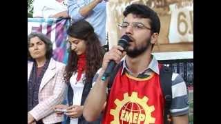 DENİZLER ANILDI - Emek Gençliği Dolmabahçe'de denizleri andı - Hayat Televizyonu