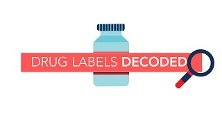Drug Labels Decoded | Consumer Reports