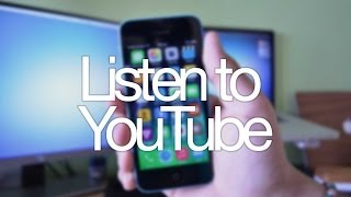 Listen to Music on YouTube After Exiting App - BEST Free Cydia Tweak for iOS7!