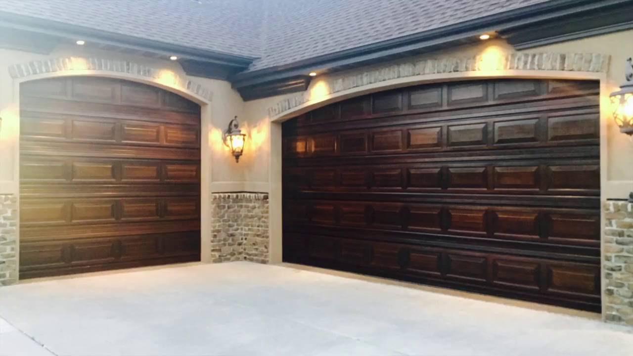 Divine Door Designs ( Garage door faux painting) - YouTube