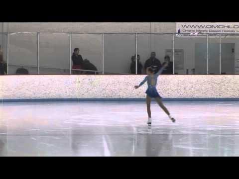 2016 Omaha Winter Festival Erin Dickinson Juvenile Free Skate