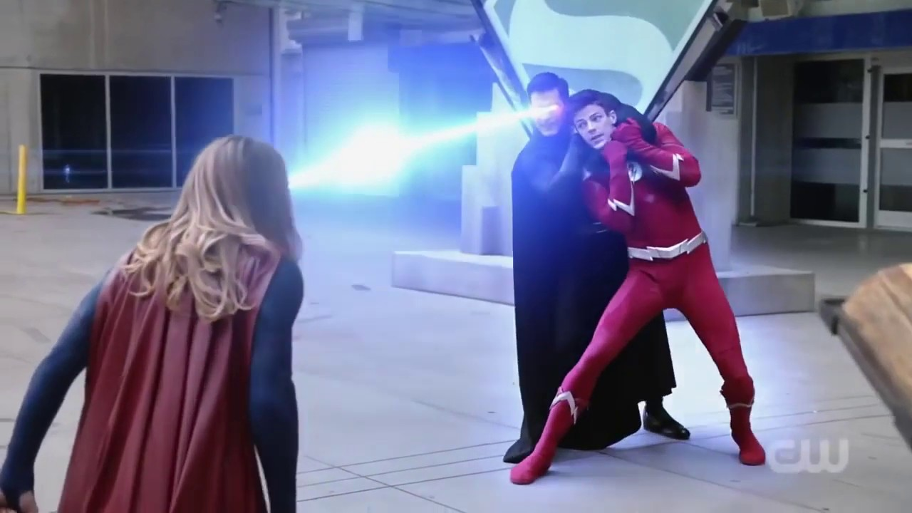 Supergirl Season 2 Superman and The Flash Crossover - YouTube