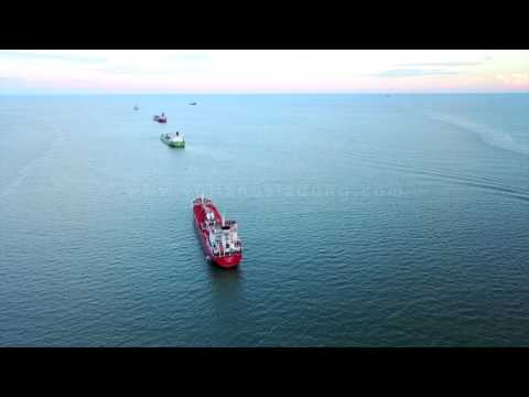 AERIAL FOOTAGE - OFFSHORE #8
