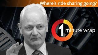 Where's ride sharing going?