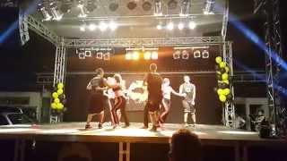 """""""Space Jam"""" Salsa Show - nastup instruktora Al Centro Salsa"""
