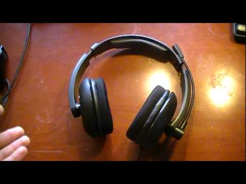 best sneakers 59233 3a866 Turtle Beach z11 Earforce Gaming Headset review - YouTube