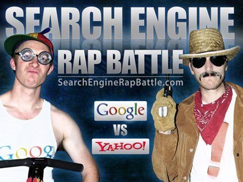 GOOGLE vs YAHOO - Search Engine Rap Battle