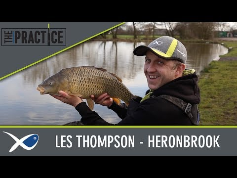 *** Coarse & Match Fishing TV *** The Practice - Les Thompson at Heronbrook Fishery