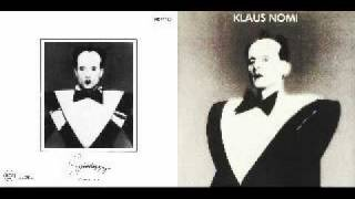 Klaus Nomi - Wasting My Time