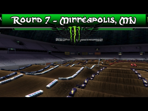 MX Vs ATV Reflex | Minneapolis - AMA SX 2017 | Track Mods