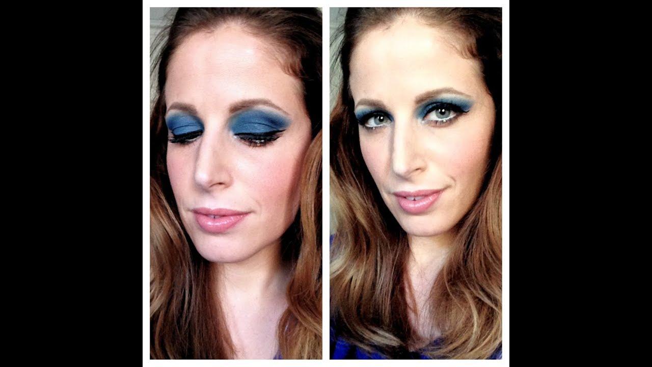 Molto Makeup Tutorial trucco ispirazione 70's blue - YouTube DW52