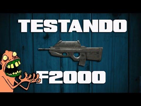 Point Blank - Testando armas - F2000 SI (ft.Wellington)
