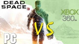 Dead Space 3 PC vs XBOX 360 Comparison (HD)