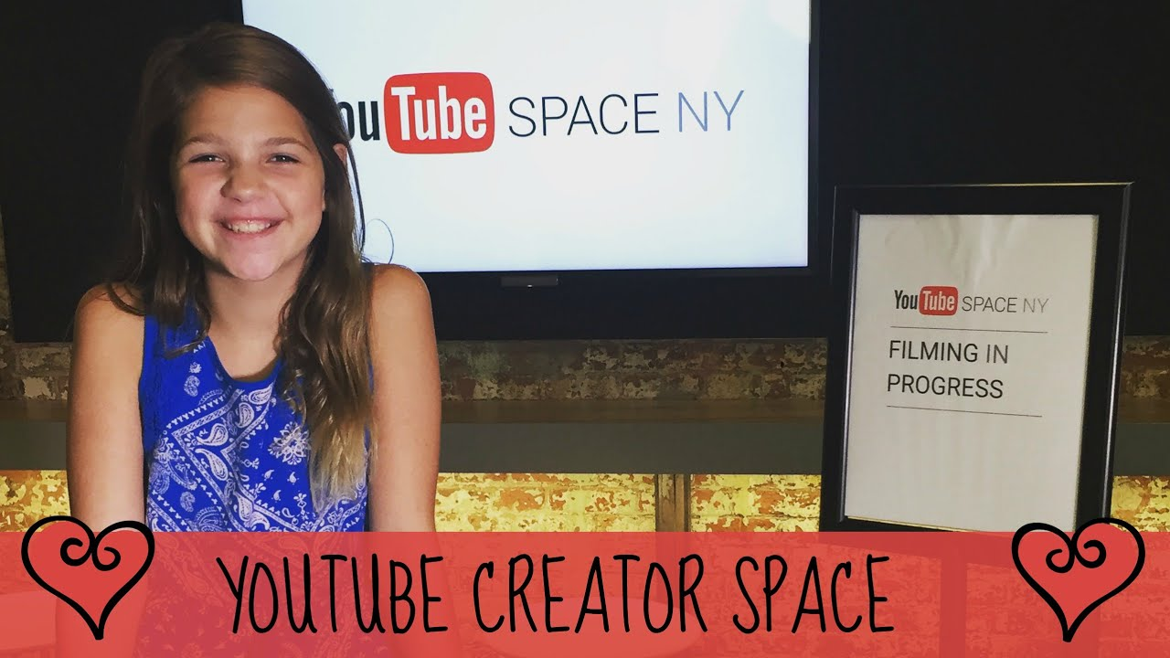 Annie in New York Day 4 Part 1 At the YouTube Creator Space - YouTube