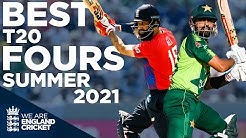 Glorious Drives Scoops Sweeps Best T20 FOURS of the Summer England Cricket