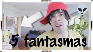 top 5 fantasmas en videos de youtubers famosos 5 ghosts celebrity videos youtubers