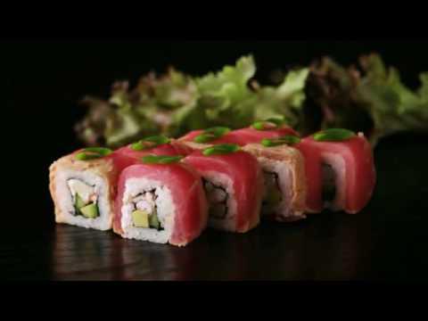 луший видео ролик про суши и роллы