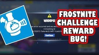 Frostnite Challenge Reward BUG! ~ Fortnite Save The World