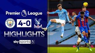 Stones scores BRACE as City dazzle! 🌟 | Man City 4-0 Crystal Palace | Premier League Highlights