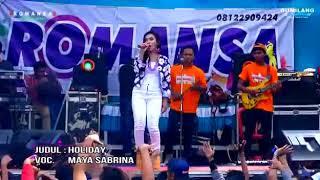 Story wa maya sabrina holiday