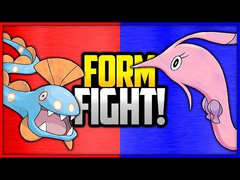 Huntail Vs Gorebyss | Pokémon Form Fight (Branched Evolution)