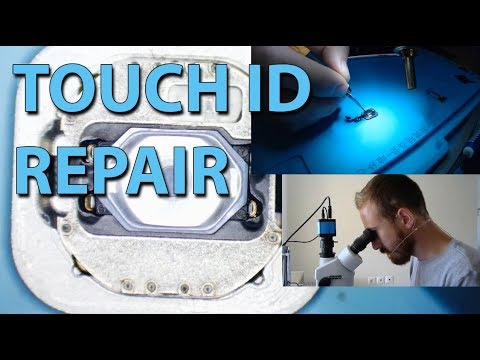 Iphone 6s fingerprint sensor touch ID Repair
