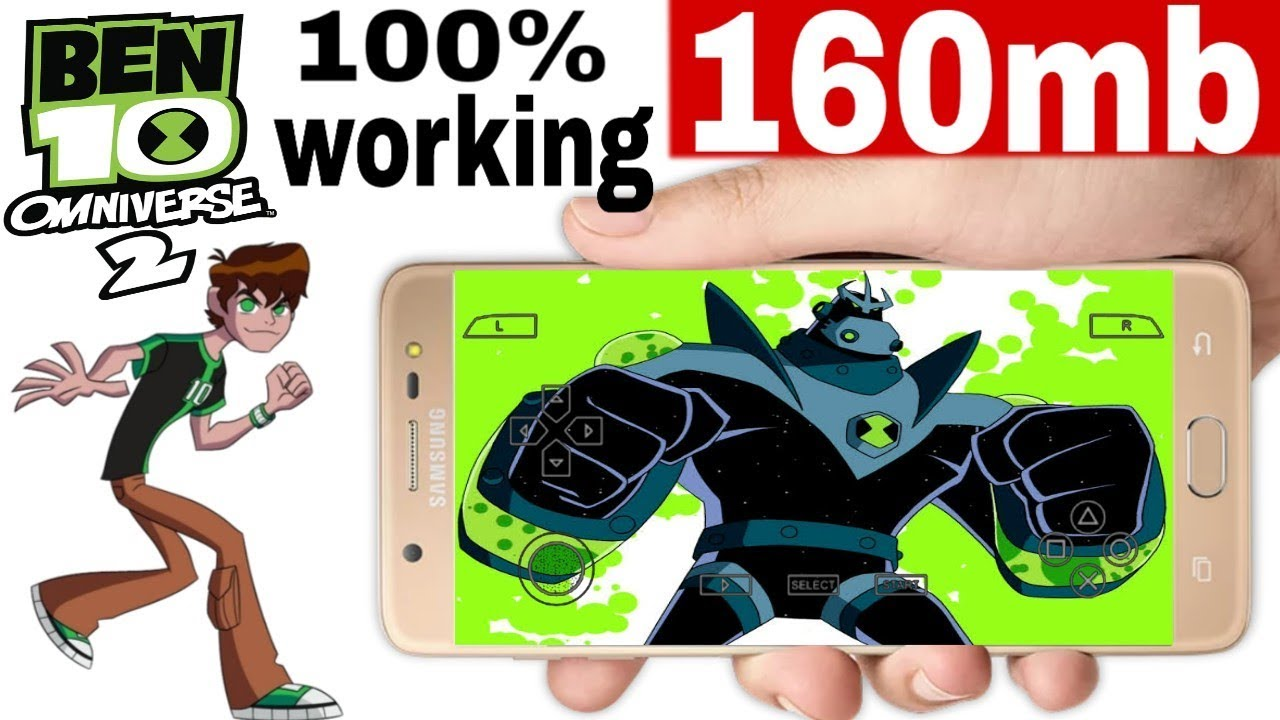 How to download Ben 10 Omniverse 2 android in just 160mb    by technology  king   