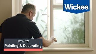 How to Prepare Interior Woodwork for Painting with Wickes