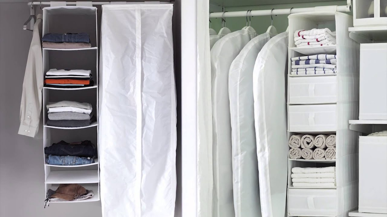 skubb wardrobe storage ikea home tour youtube. Black Bedroom Furniture Sets. Home Design Ideas