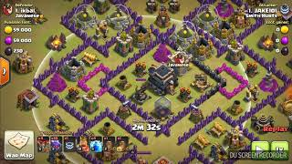 Smith Hurts 142nd War Summary & TH9 Attack