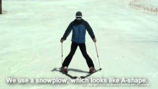 Ski Lesson Video for beginners from Niseko