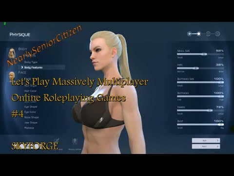 SKYFORGE : Lets Play Massively Multiplayer Online Roleplaying Games #4