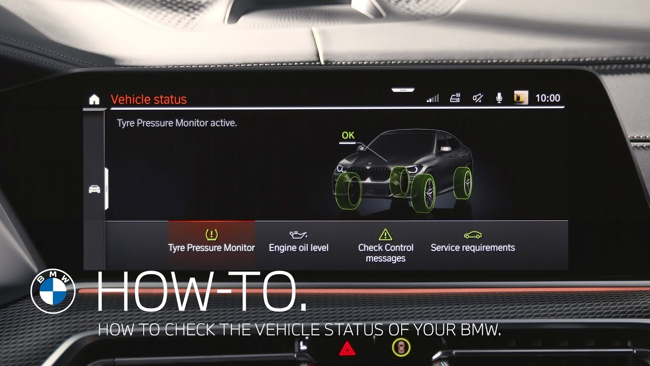 How to check the vehicle status of your BMW – BMW How-To