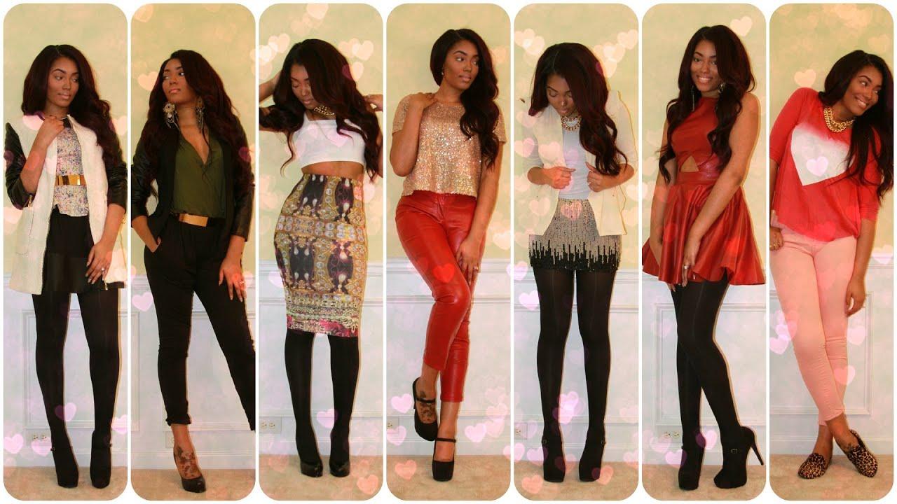 Fabulous Date Night Fashion Lookbook Youtube