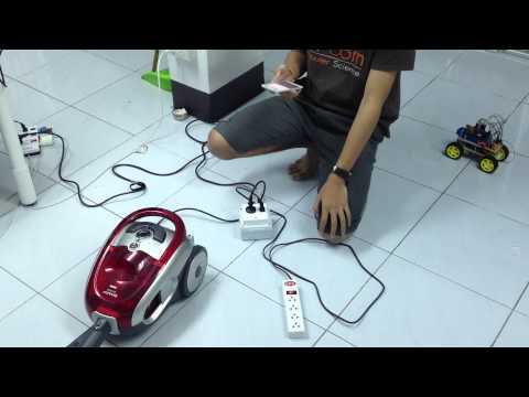 โปรเจคจบ ปวช 3 การควบคุมอุปกรณ์ไฟฟ้าผ่าน App android + หุ่นยนต์รถบังคับ