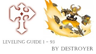 Dragon Nest INA - Leveling Guide 1 - 93 + Tips & Tricks
