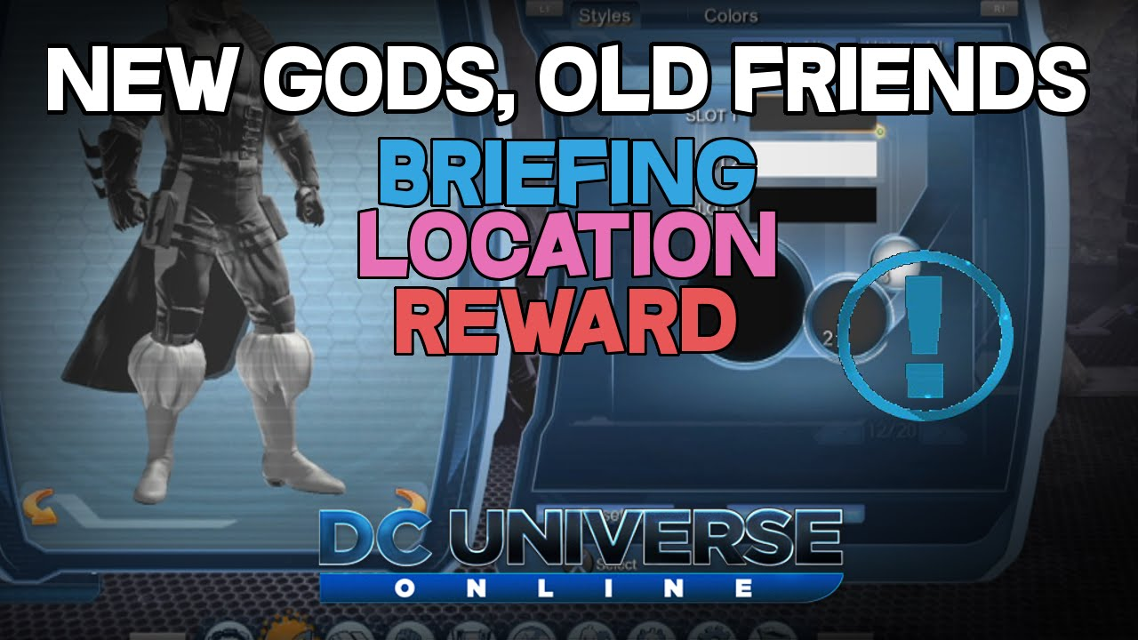 dcuo how to join friends
