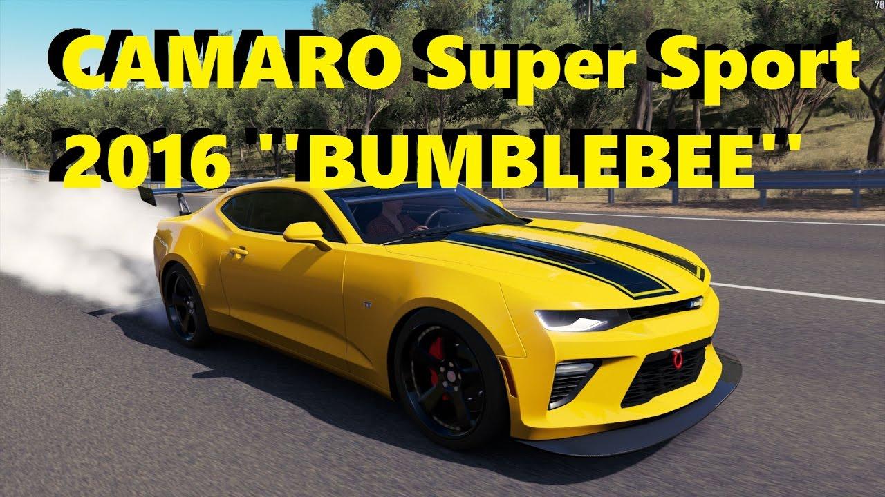 Camaro Blebee Super Sport 2016 Drift Build