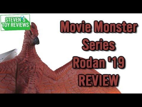 Bandai Movie Monster Series Rodan 2019 Review
