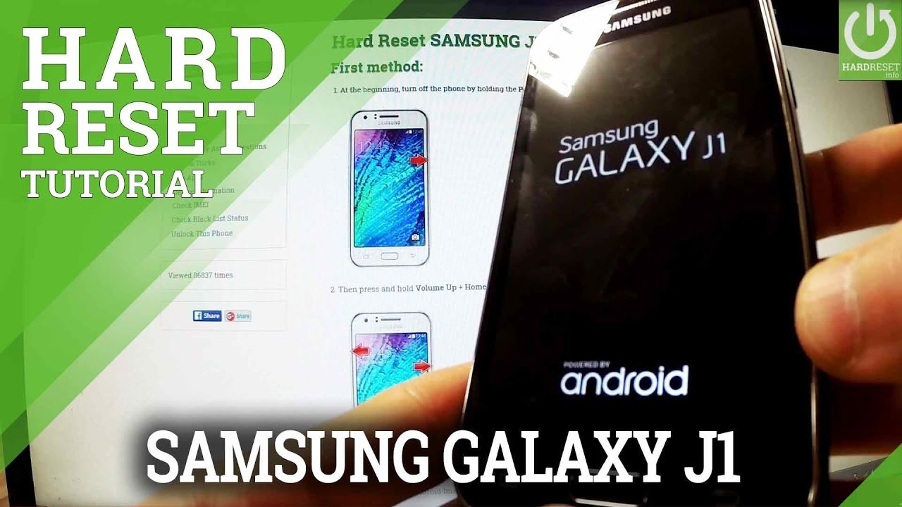 Hard Reset SAMSUNG J327P Galaxy J3 Emerge - HardReset info