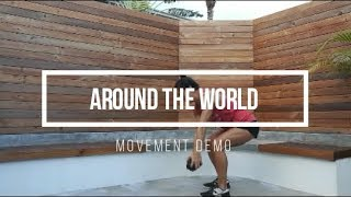 Around the World // FIT Happy Hour Movement Demo