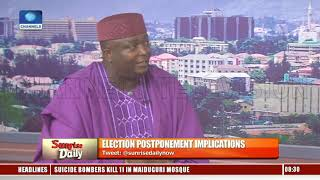 INEC Acted In The Interest Of Nigerians To Avoid Staggered Elections - IPAC Chairman |Sunrise Daily|