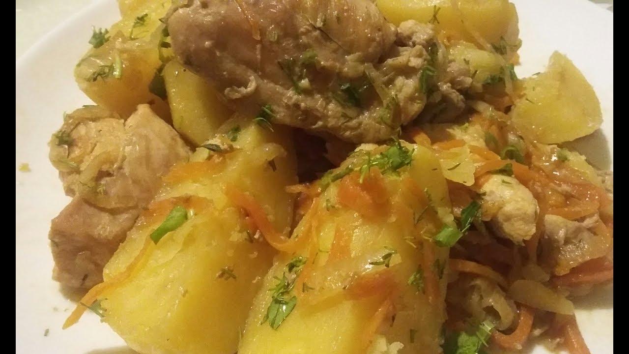 Жаркое из курицы с картошкой по цыгански. Курица с соевым соусом. gipsy kitchen