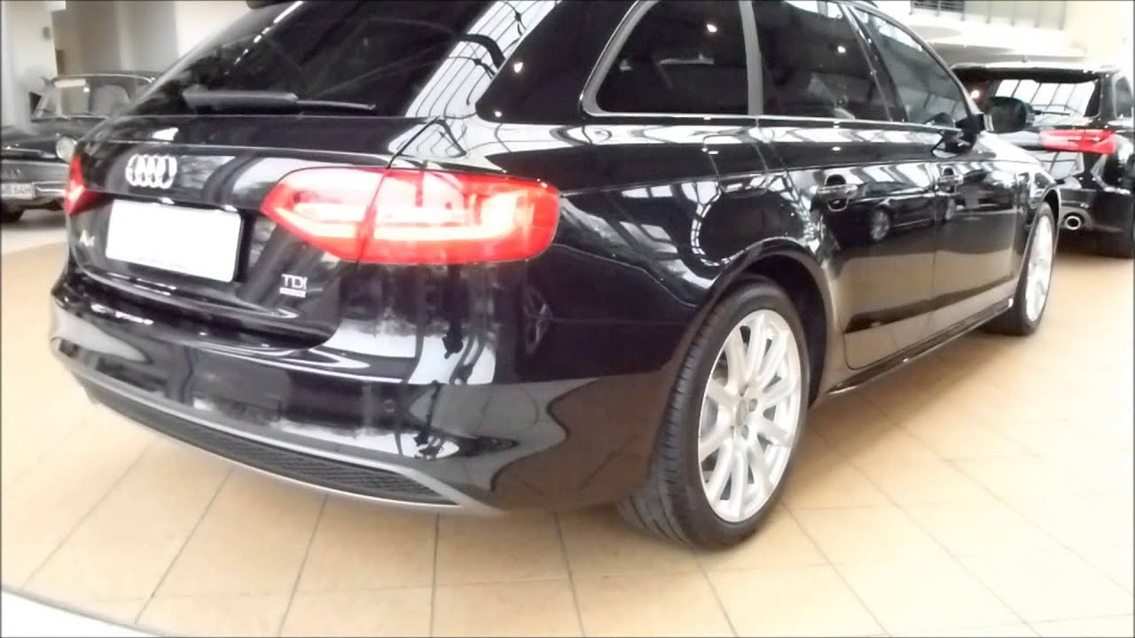 2014 audi a4 avant 2 0 tdi 39 39 s line 39 39 exterior interior see also playlist youtube. Black Bedroom Furniture Sets. Home Design Ideas